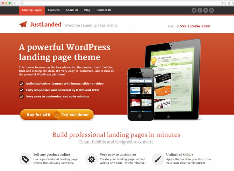 preview-justlanded-wordpress