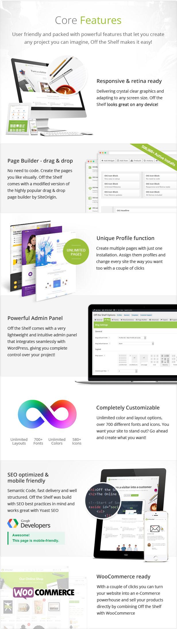Off the Shelf - Online Marketing WordPress Theme Download