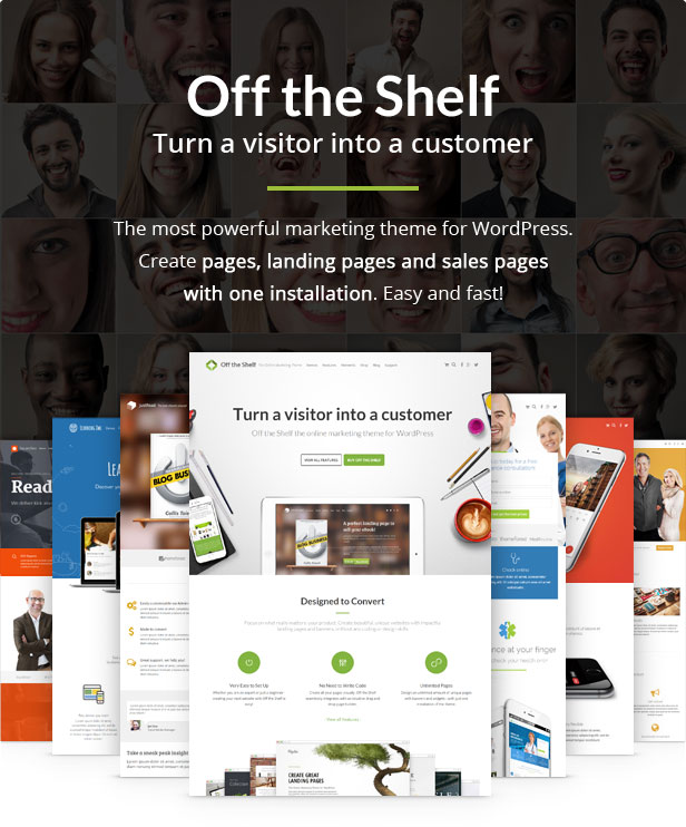 Off the Shelf - The Online Marketing Theme